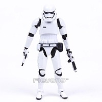 """Star Wars Stormtrooper with Weapons Mini PVC Action Figure Collectible Model Toy 4"""" 10cm"""
