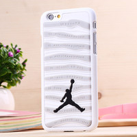 Air Jordan Sports Stripe Shoe sole PVC Rubber Case cover For Apple iPhone 6Plus 6S PLUS
