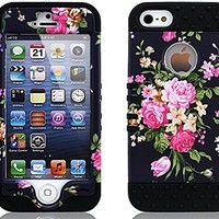 iPhone 5 Case, iPhone 5S Case, Gotida Hybrid Hard Back Shell Case Cover Protector Fit For iPhone 5/5S/5G,Case for iPhone 5