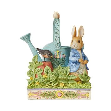 Jim Shore HWC Peter Rabbit with Watering Can - 6008744