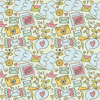 The Jumble of Impressions Removable Wallpaper