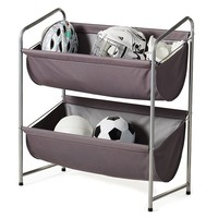 neatfreak Garage Sport 2-Tier Storage Bin (Grey)