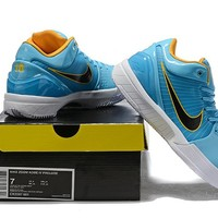 Nike Zoom Kobe 4 IV - Blue/Yellow