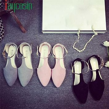 Hot Sale women shoes zapatos de mujer Spring Fashion Women Shoes Point Toe Slip-On Flat Shoes Comfortable Flats drop shipping