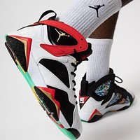 Air Jordan 7 'Chile Red' sneakers basketball shoes