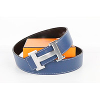 Hermes belt men's and women's casual casual style H letter fashion belt593