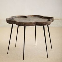 Handcarved Elatus Table by Anthropologie Neutral Motif One Size Furniture
