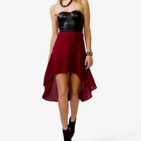 Spiked Corset Dress | FOREVER 21 - 2023044415