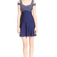 Herve Leger 'Archive Collection' Fit & Flare Bandage Dress | Nordstrom