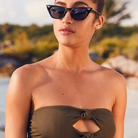 Out From Under Emika Double-Knotted Bandeau Bikini Top | Urban Outfitters