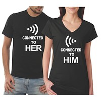 His and Her Matching Couples Shirts | Our T Shirt Shack
