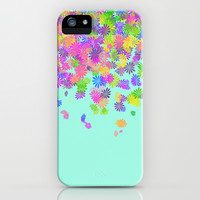 Groovy on Mint iPhone & iPod Case by Beth Thompson