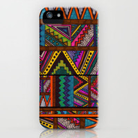 NAHUALA iPhone & iPod Case by Kris Tate