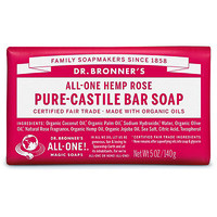Rose Pure-Castile Bar Soap | Ulta Beauty