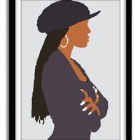 Janet Jackson, Janet Jackson Unbreakable, Poetic Justice, Janet Poster, Classic Movie Poster, Hip hop poster, A3 poster