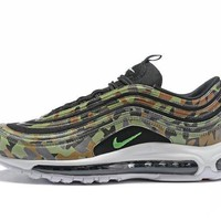 Nike Air Max 97 air cushion Gym shoes-25