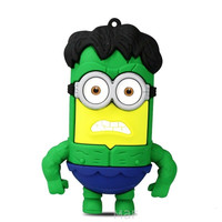 "Portable Battery Charger Minions ""The Hulk"" 4400 mAh"