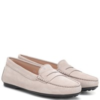 Gommino City suede loafers