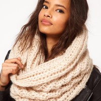 ASOS Extra Long Funnel Knit Snood