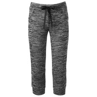 Almost Famous Cuffed Capri Jogger Pants