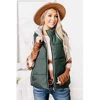Best Of Both Worlds Reversible Vest | Green