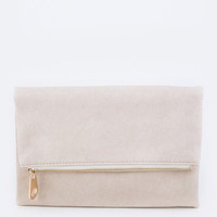 Nude and Naked Clutch | The Handmade Hustle