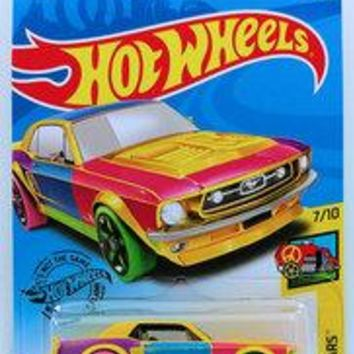 New 2019 Hot Wheels '67 Ford Mustang Coupe HW Art Cars