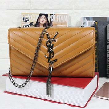 YSL Yves Saint Laurent Hot Selling Chain Bag, Coin Purse, Cell Phone Bag, Cosmetic Bag, Fashion Ladies One Shoulder Cross Bag