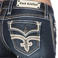 Rock Revival Sukie Short - Med Wash