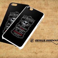 jake skellington blood whiskey Samsung Galaxy S3 S4 S5 Note 3 , iPhone 4(S) 5(S) 5c 6 Plus , iPod 4 5 case