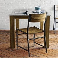 Rustic Kitchen Square Table