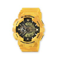Casio G-Shock XL GA-110 Series Yellow Camo