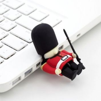 Bone Collection 8GB Do-it-Yourself Queen's Guard USB Driver Customizable Parts (DR12011R)