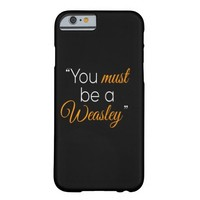 Weasley iphone case barely there iPhone 6 case