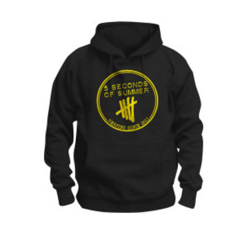 5 Seconds Of Summer Derping Stamp Hoodie