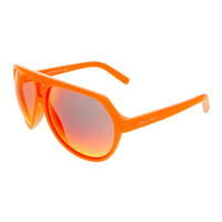 Dsquared Neon Orange Aviator sunglasses