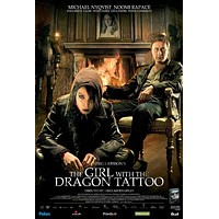 The Girl with the Dragon Tattoo 27x40 Movie Poster (2009)
