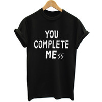 New You Complete Mess Me 5SOS Shirt Five 5 Seconds Of Summer T Shirt T-shirt Luke Hemmings women Clothing