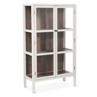 """Vista 56"""" Library Cabinet with Glass - Shell - Threshold™"""