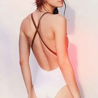 RED VELVET By Nicole Marcella Brigitte One-Piece Swimsuit