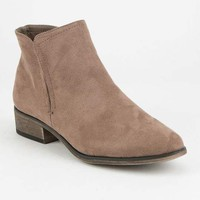 BAMBOO Side Slit Womens Booties