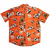 Natty Boh Baseball Players (Orange) / Hawaiian Shirt