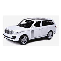 Range Rover Metal Car 1:32 Pull Back Diecast Vehicles Toys Boys Alloy Simulation Auto Model with Sound and Light Christmas Gift