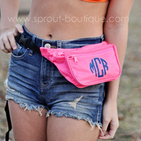 Personalized Monogrammed Fanny Pack