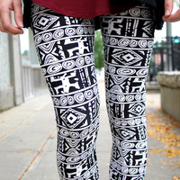 Talk Tribal To Me Leggings