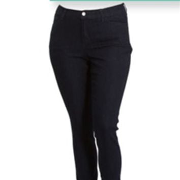 Cello Jeans Plus Size Skinny with Dark Wash UC12990BLK