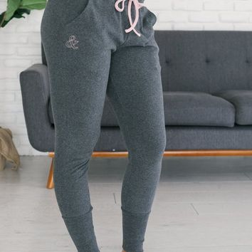 Ampersand Ave Joggers - Charcoal