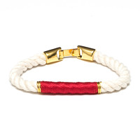 Beacon - Ivory/Red/Gold