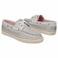 Women's Sperry Top-Sider  Biscayne Silver Sparkle FamousFootwear.com