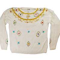 All The Little Beads Ugly Christmas Sweater | ugly sweater